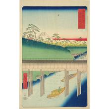 Utagawa Hiroshige: Ochanomizu in the Eastern Capital, no. 5 from the series Thirty-six Views of Mt. Fuji - University of Wisconsin-Madison