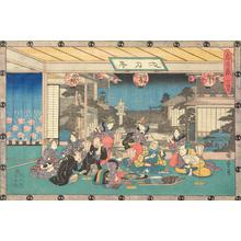Utagawa Hiroshige: Act Seven, from the series Chushingura - University of Wisconsin-Madison