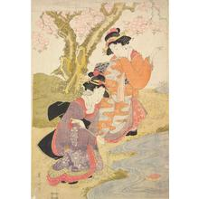 Kikugawa Eizan: Women Floating Winecups on a Stream - University of Wisconsin-Madison
