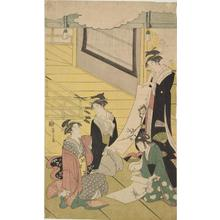 Hosoda Eishi: Women Examining Paintings - University of Wisconsin-Madison