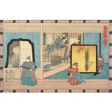 Utagawa Hiroshige: Act Two, from the series Chushingura - University of Wisconsin-Madison