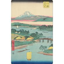 Utagawa Hiroshige: The Twelve Views of Mount Fuji - University of Wisconsin-Madison