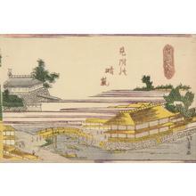 渡辺省亭: Haze on a Clear Day at Mitsuke, from the series Eight Views of Ryogoku - ウィスコンシン大学マディソン校