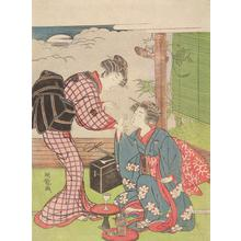 Isoda Koryusai: Two Women Playing a Hand Game - University of Wisconsin-Madison