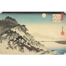 Utagawa Hiroshige: Autumn Moon at Ishiyama, from the series Eight Views of Omi Province - University of Wisconsin-Madison