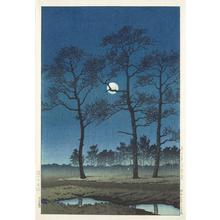 Kawase Hasui: Winter Moon Over Toyama Plain - University of Wisconsin-Madison