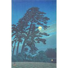 Kawase Hasui: Moon at Magome - University of Wisconsin-Madison
