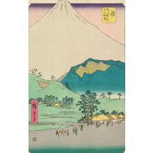 Utagawa Hiroshige: The Twelve Views of Mount Fuji - University of Wisconsin-Madison