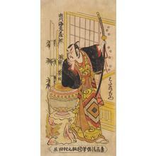 鳥居清信: The Actor Ichikawa Ebizo II as Hata Rokurozaemon - ウィスコンシン大学マディソン校