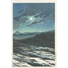Kawase Hasui: Karikachi Mountain Pass - University of Wisconsin-Madison