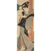 Kikugawa Eizan: Geisha Reading a Letter - University of Wisconsin-Madison