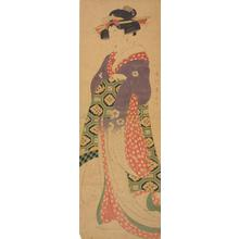 Kikugawa Eizan: Young Woman with Long Sleeves - University of Wisconsin-Madison
