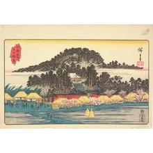 Utagawa Hiroshige: The Inari Shrine at Oji, from the series Famous Places in Edo - University of Wisconsin-Madison