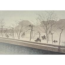 Yoshikawa Kanpo: Morning Mist at Sanjo - University of Wisconsin-Madison