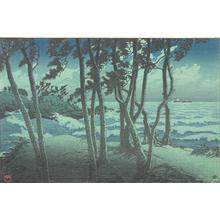 Kawase Hasui: Hinomisuki, Izumo, from the series Souvenirs of Travel, Third Series - University of Wisconsin-Madison
