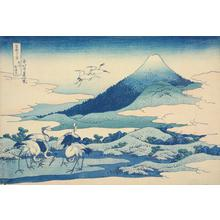 Katsushika Hokusai: Near Umezawa in Sagami Province, from the series Thirty-six Views of Mt. Fuji - University of Wisconsin-Madison