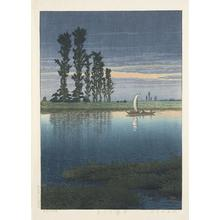Kawase Hasui: Dusk at Ushibori - University of Wisconsin-Madison