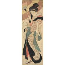 Kikugawa Eizan: Geisha Returning from Bath House - University of Wisconsin-Madison