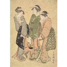 Rekisentei Eiri: Three Women with a Child - ウィスコンシン大学マディソン校