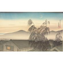 Hashiguchi Goyo: Evening Moon in Kobe - University of Wisconsin-Madison