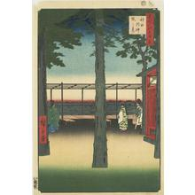 歌川広重: Dawn at the Kanda Myojin Shrine, no. 10 from the series One-hundred Views of Famous Places in Edo - ウィスコンシン大学マディソン校