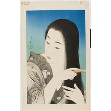 鳥居言人: Combing the Hair, Kamisuki - ウィスコンシン大学マディソン校