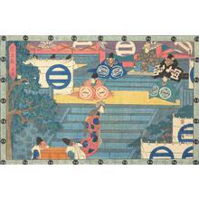 歌川広重: Act One, from the series Chushingura - ウィスコンシン大学マディソン校
