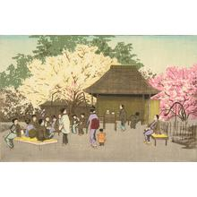 Kobayashi Kiyochika: The Plum Grove at Kameido - University of Wisconsin-Madison