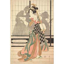 Kikugawa Eizan: Geisha with Shamisen - University of Wisconsin-Madison