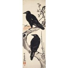 Kawanabe Kyosai: Crows on Plum Branch - University of Wisconsin-Madison