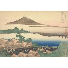 Katsushika Hokusai: Dawn at Izawa in Kai Province, from the series Thirty-six Views of Mt. Fuji - University of Wisconsin-Madison
