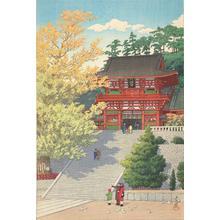 Kawase Hasui: Tsuruoka Hachimangu - University of Wisconsin-Madison