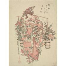 Okumura Masanobu: Flower Vendor - University of Wisconsin-Madison