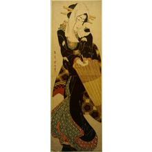 Kikugawa Eizan: Geisha with Umbrella - University of Wisconsin-Madison