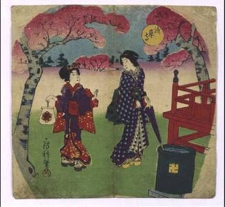 Utagawa Fusatane: Senso-ji Temple - Edo Tokyo Museum