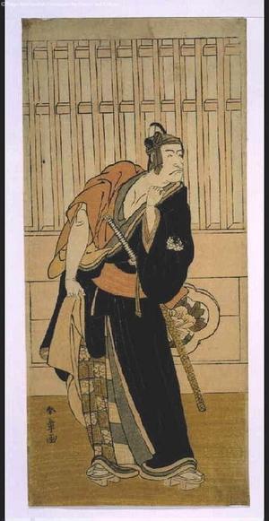 勝川春章: ICHIKAWA Danjuro V Playing 'Sukeroku' - 江戸東京博物館