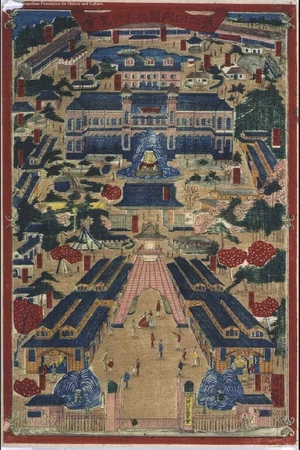Utagawa Kunitoshi: 2nd National Industrial Exhibition - Edo Tokyo Museum