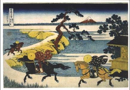 Katsushika Hokusai: Thirty-six Views of Mt. Fuji: Sekiya Village on the Sumida River - Edo Tokyo Museum
