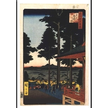 Utagawa Hiroshige: One Hundred Famous Views of Edo: Inari Fox Shrine at Oji - Edo Tokyo Museum