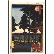 Utagawa Hiroshige: One Hundred Famous Views of Edo: Inari Fox Shrine at Oji - Edo Tokyo Museum