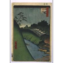 歌川広重: One Hundred Famous Views of Edo: Shoheibashi Bridge and the Yushima Seido Temple by Kanda River - 江戸東京博物館