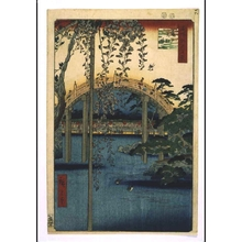 Utagawa Hiroshige: One Hundred Famous Views of Edo: Precincts of Kameido Tenjin Shrine - Edo Tokyo Museum
