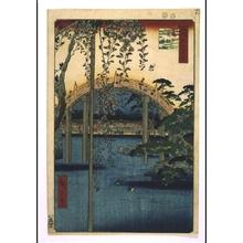 Utagawa Hiroshige: One Hundred Famous Views of Edo: Precincts of Kameido Tenjin Shrine - Edo Tokyo Museum