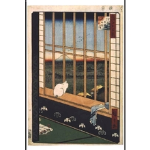 Utagawa Hiroshige: One Hundred Famous Views of Edo: Procession for the Tori-no-ichi Festival, Asakusa-tanbo - Edo Tokyo Museum