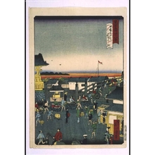 Ikkei: Forty-Eight Famous Views of Tokyo: Evening View of Nihonbashi Bridge - Edo Tokyo Museum