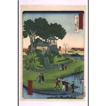 Ikkei: Forty-Eight Famous Views of Tokyo: Benten Hill Inside Senso-ji Temple - Edo Tokyo Museum