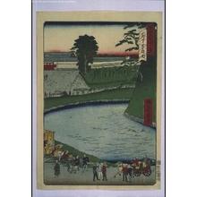 一景: Forty-Eight Famous Views of Tokyo: Soto Sakurada - 江戸東京博物館