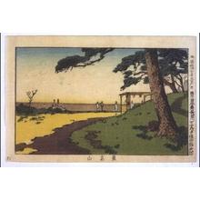 Inoue Yasuji: True Pictures of Famous Places in Tokyo: Asukayama Hill - Edo Tokyo Museum