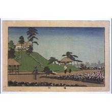 井上安治: True Pictures of Famous Places in Tokyo: The Horikiri Iris Garden - 江戸東京博物館