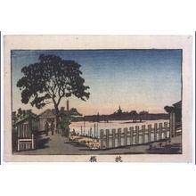 井上安治: True Pictures of Famous Places in Tokyo: Makurabashi Bridge - 江戸東京博物館